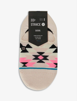 Stance Ryley No Show knitted socks pack of three