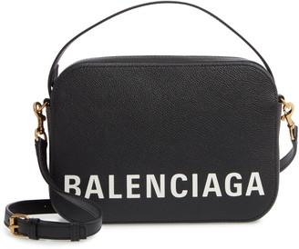 Balenciaga Ville Calfskin Camera Bag