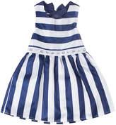 Nicole Miller Girls' Striped Dress