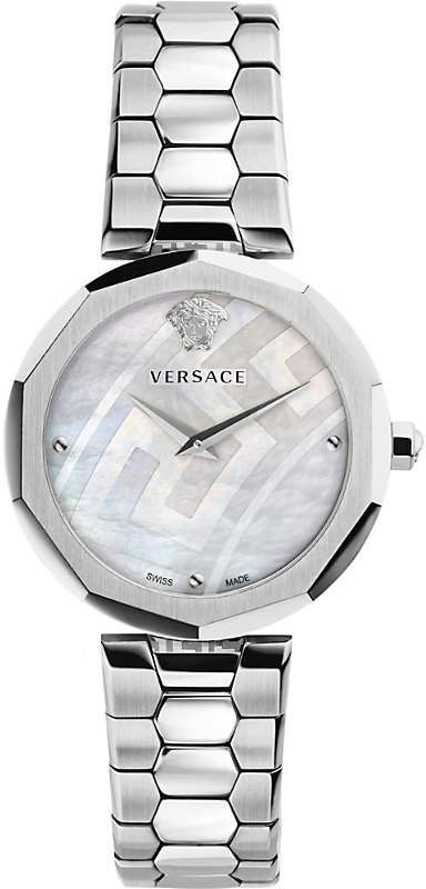 Versace V-Muse stainless steel watch