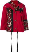 RED Valentino cropped bandana jacket