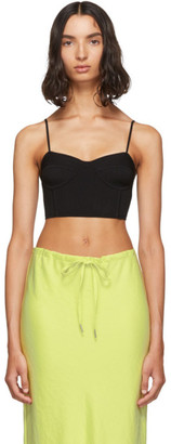 Alexander Wang Black Bra Cup Tank Top