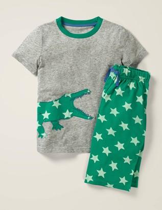 Printed Applique Pyjama Set