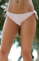 LIONESS Bianca Jagger Tie Side Cheeky Bikini Bottom