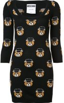 Moschino teddy bear mini dress