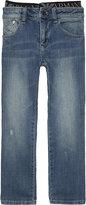 Armani Junior Distressed Slim Fit Jeans 4-16 Years