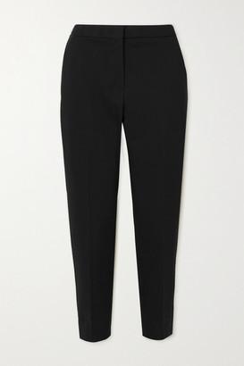Max Mara Pegno Cady Straight-leg Pants - Black
