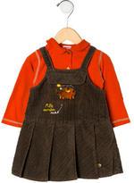 Catimini Girls' Corduroy Dress Set