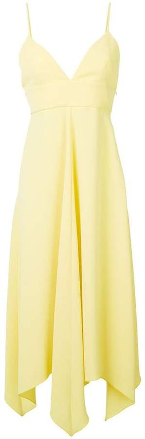 Moschino draped front dress