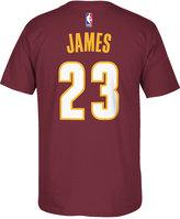 adidas Men's LeBron James Cleveland Cavaliers Player T-Shirt