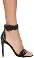 Tibi Amber Heel in Black Multi