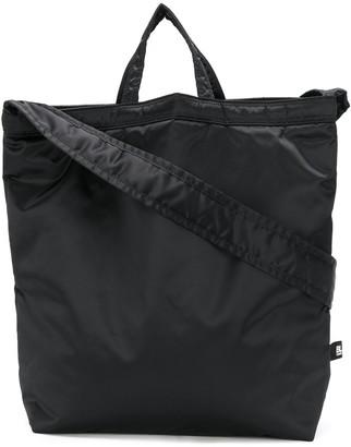 Black Comme Des Garçons Nylon Tote Bag