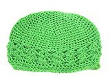 Binmer(TM) Toddlers Infant Baby Girl Flower Hollow Out Hat Headwear Hat (Green)
