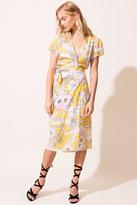 Yumi Kim Caught In The Midi Silk Dress