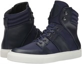 The Kooples Sport Leather and Nylon Sneaker