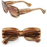 Dita Eyewear Rouen 54.5MM Rectangle Sunglasses