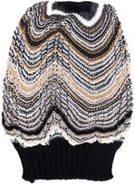 Missoni slouchy knitted beanie