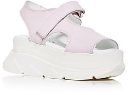 Joshua Sanders Women's Spice Platform Wedge Sandals