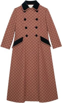 Gucci GG canvas coat