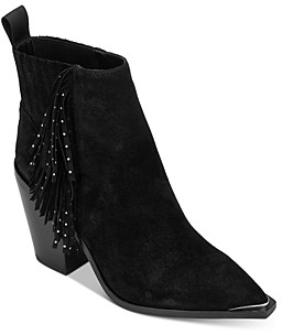 Kenneth Cole Women's West Side Fringe Ankle Booties
