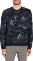 Valentino Camouflage Print Sweatshirt