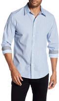 Ben Sherman Paisley Dot Print Woven Regular Fit Shirt