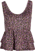 Full Tilt Babydoll Womens Crop Tank