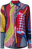Versace printed shirt - women - Silk - 40