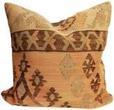 One Kings Lane Vintage Superb Old Turkish Tribal Kilim Pillow