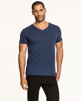 Le Château Cotton Slub V-neck T-Shirt