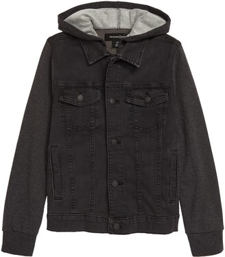 Treasure & Bond Kids' Denim & Knit Jacket