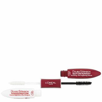 L'Oreal Double Extension Beauty Tube Mascara - Black