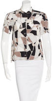 Gucci Silk Printed Top