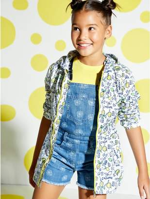M&Co Lemon and lime mac coat (3 - 12 yrs)