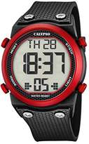 Calypso Unisex Digital Watch with LCD Dial Digital Display and Black Plastic Strap K5705/2