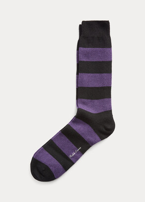 Ralph Lauren Cashmere-Blend Dress Socks