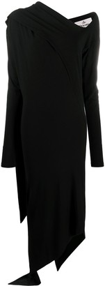 Vivienne Westwood Asymmetric Draped Panel Dress