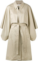 Chloé belted coat - women - Cotton - 38