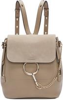 Chloé Grey Medium Faye Backpack
