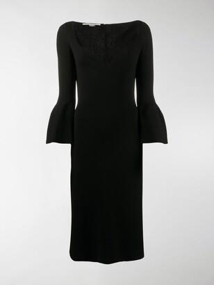 Stella McCartney Sweetheart-Neckline Shift Dress