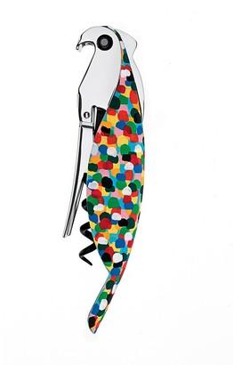 Alessi Parrot Cast Aluminium Cork Screw Multicolour