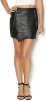 HYPR Vegan Leather Skirt