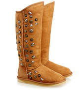 Australia Luxe Collective Chestnut Angel Tall Shearling Boot