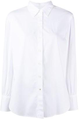 Tommy Hilfiger Long-Sleeve Curve-Hem Shirt