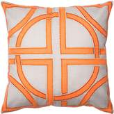 Loloi DSETP0136GYORPIL1 DSET Cotton and Rayon Cover with Down Fill Decorative Accent Pillow
