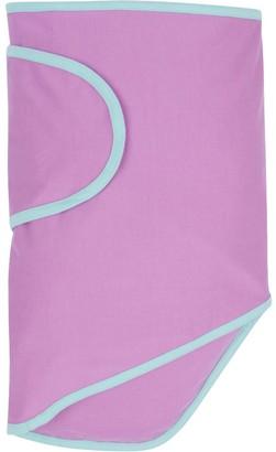 Miracle Blanket waddle Wrap Trim Purple/Mint