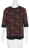 Dries Van Noten Wool Intarsia Sweater