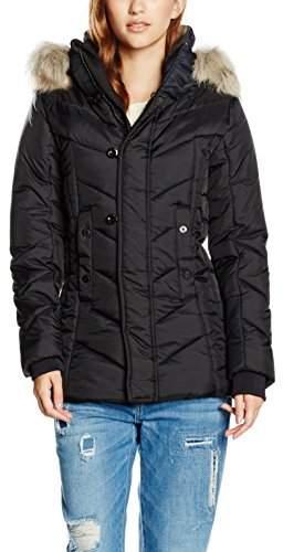 G Star Women's Alaska Fur HDD Coat Wmn Jacket,L