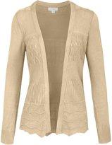 NE PEOPLE Women's Thin Lightweight Knit Long Sleeve Cardigan