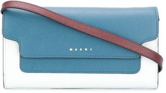 Marni Bellows strap wallet